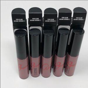 Mac Viva Glam Arianna Grande lipgloss bundle of 5